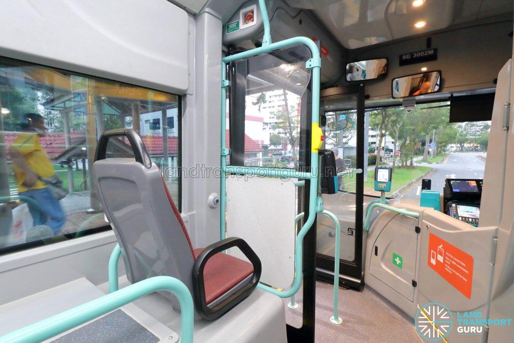Volvo B5LH - Front Priority Seat & Entrance Door