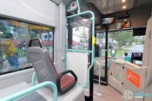 Volvo B5LH - Front Priority Seat & Entrance Door