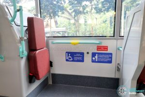 Volvo B5LH - Wheelchair Bay
