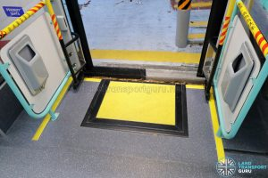 Volvo B5LH - Exit Door with manual Wheelchair Ramp