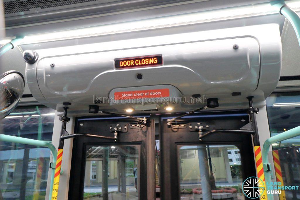 Volvo B5LH - Exit Door