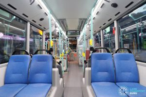 Volvo B5LH - Interior (Rear to Front)
