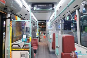 Volvo B5LH - Interior (Middle to Front)