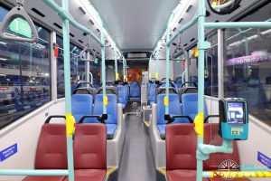 Volvo B5LH - Rear Seating