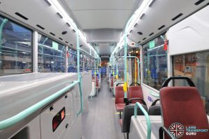 Volvo B5LH - Interior (Front to Rear)