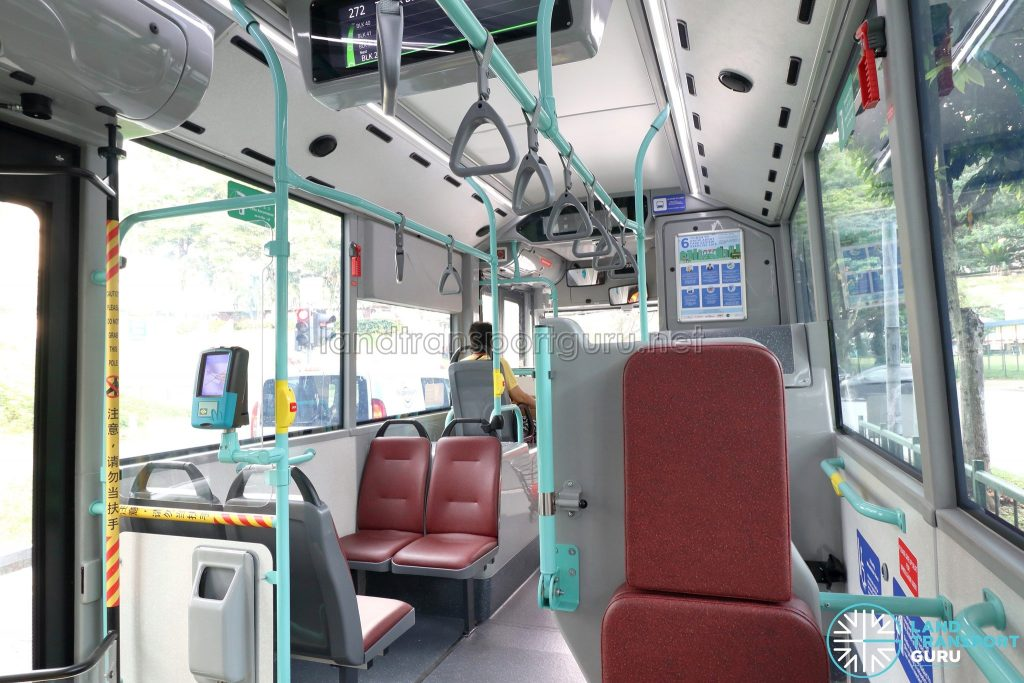 Volvo B5LH - Wheelchair Bay & Front Priority Seats