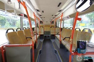 Volvo B9TL (CDGE) – Lower Deck (Middle to Rear)