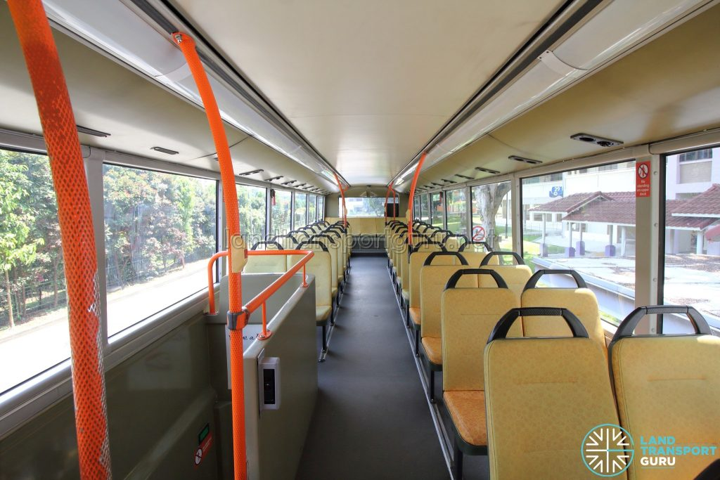Volvo B9TL (CDGE) – Upper Deck (Front to Rear)