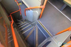 Volvo B9TL (CDGE) – Staircase