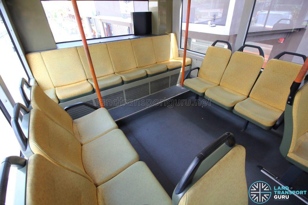 Volvo B9TL (CDGE) – Original Interior – Upper Deck rear seating