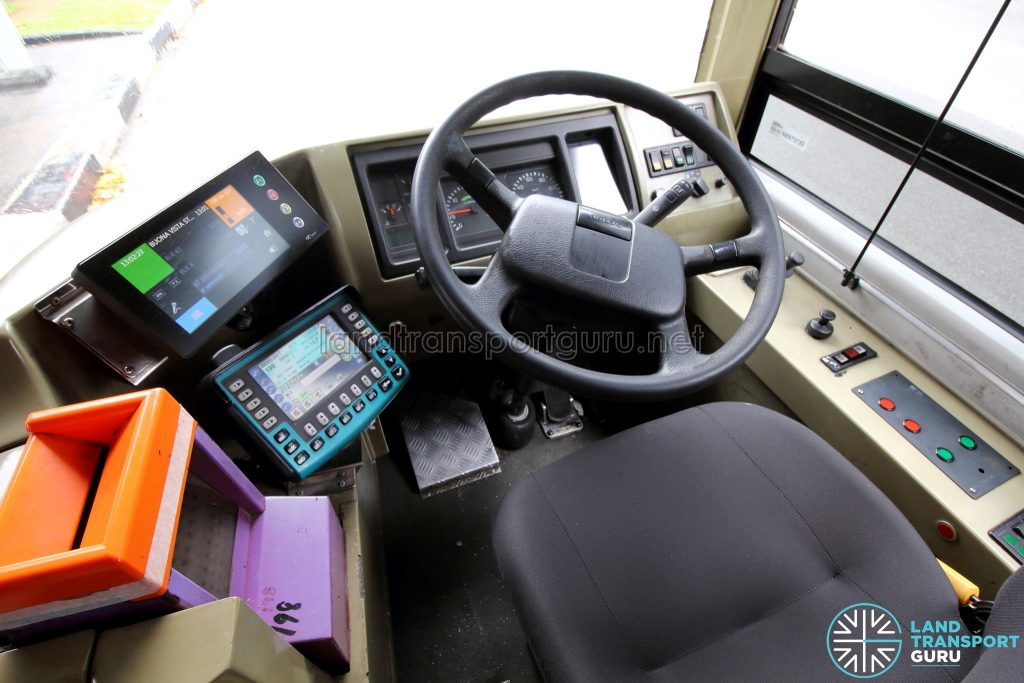Volvo B9TL (CDGE) – Dashboard