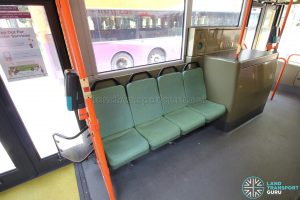 Volvo B9TL (CDGE) – Priority Seats