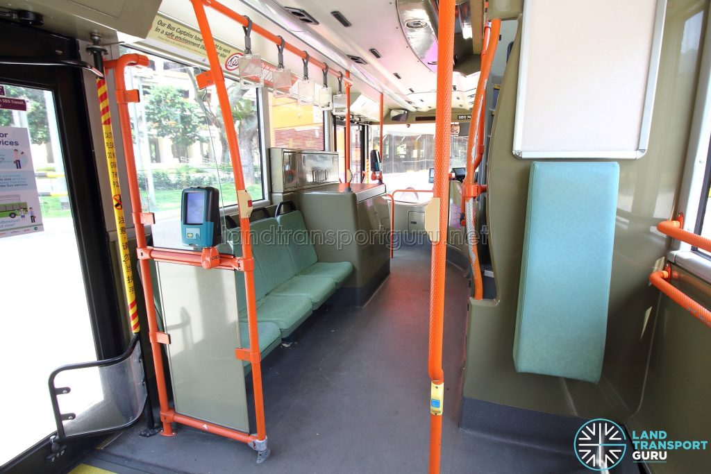 Volvo B9TL (CDGE) – Original Interior – Lower Deck (Middle to Front)