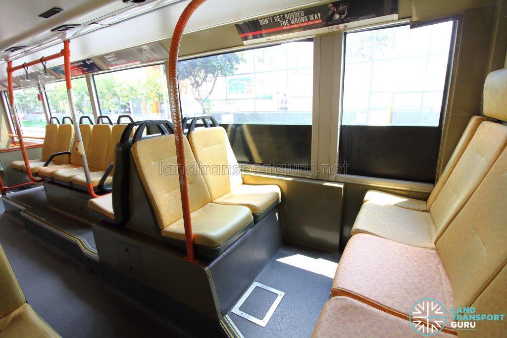 Volvo B9TL (CDGE) – Lower Deck rear seating