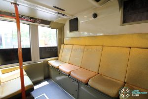 Volvo B9TL (CDGE) – Lower Deck rear seating