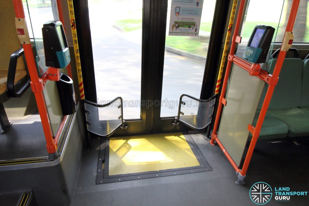 Volvo B9TL (CDGE) – Exit Door (Bottom) with wheelchair ramp