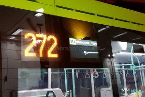 Volvo B5LH: Passenger Information Display System - Exterior Display