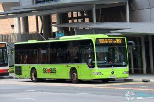 Bus 162 - SBS Transit Mercedes-Benz Citaro (SG1145Y)