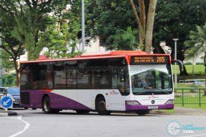 Bus 265 - SBS Transit Mercedes-Benz Citaro (SG1152B)