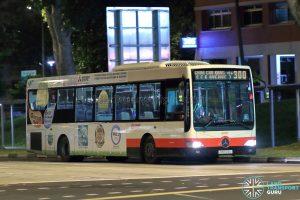 Bus 300 - SMRT Buses Mercedes-Benz OC500LE (SMB124L)