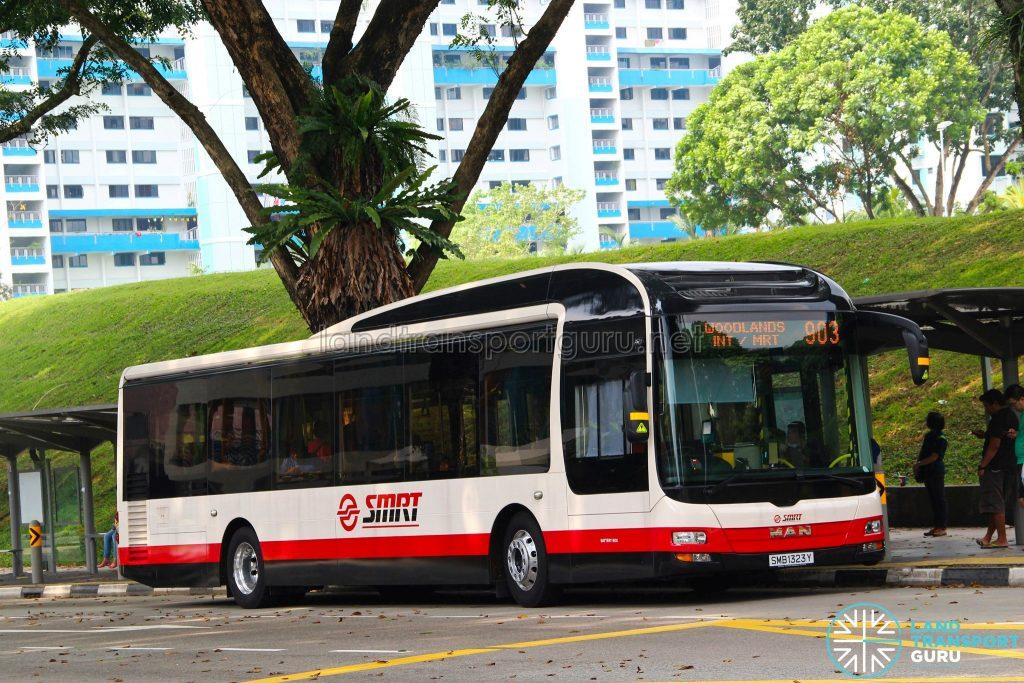 Bus Service 903 – SMRT MAN A22 (SMB1323Y)