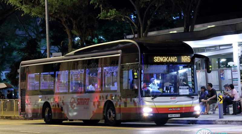 NightRider NR6 - SMRT Buses MAN A22 (SMB1497D)