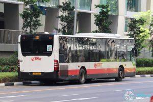 Bus 167 - SMRT Buses Mercedes-Benz Citaro (SMB172Y)