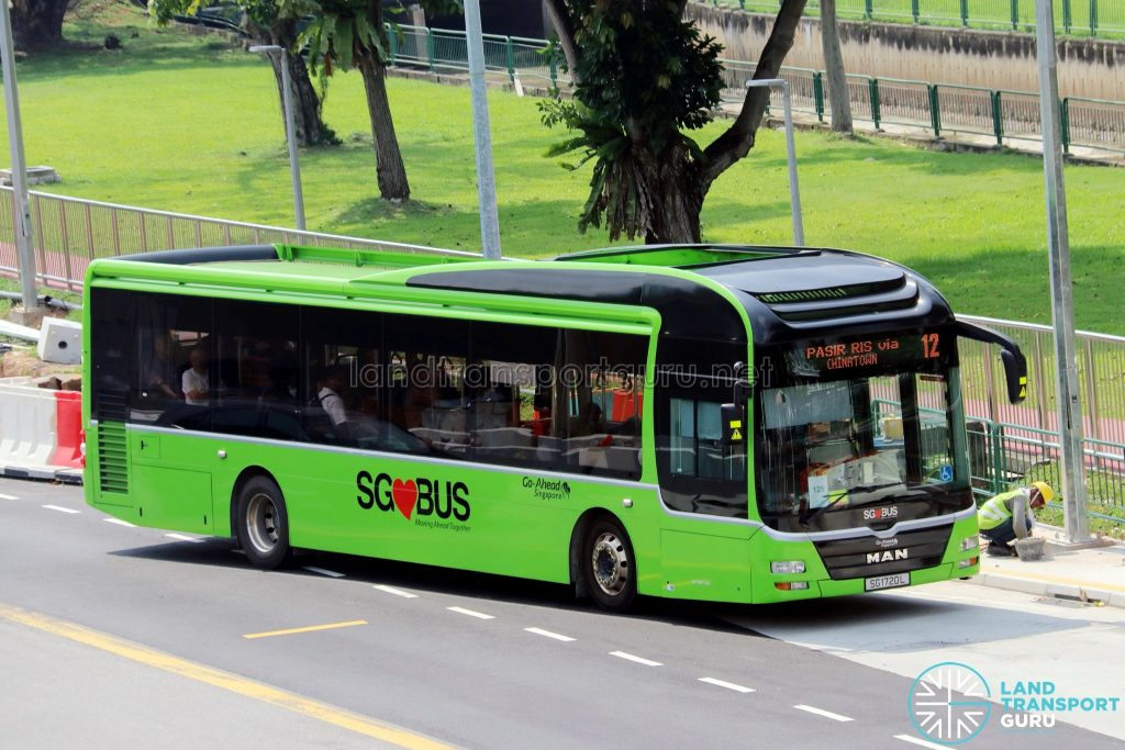Bus 12 - Go-Ahead MAN A22 (SG1720L)