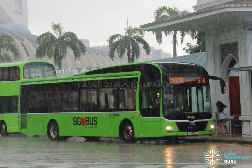 Express 518 - Go-Ahead MAN A22 (SG1720L)