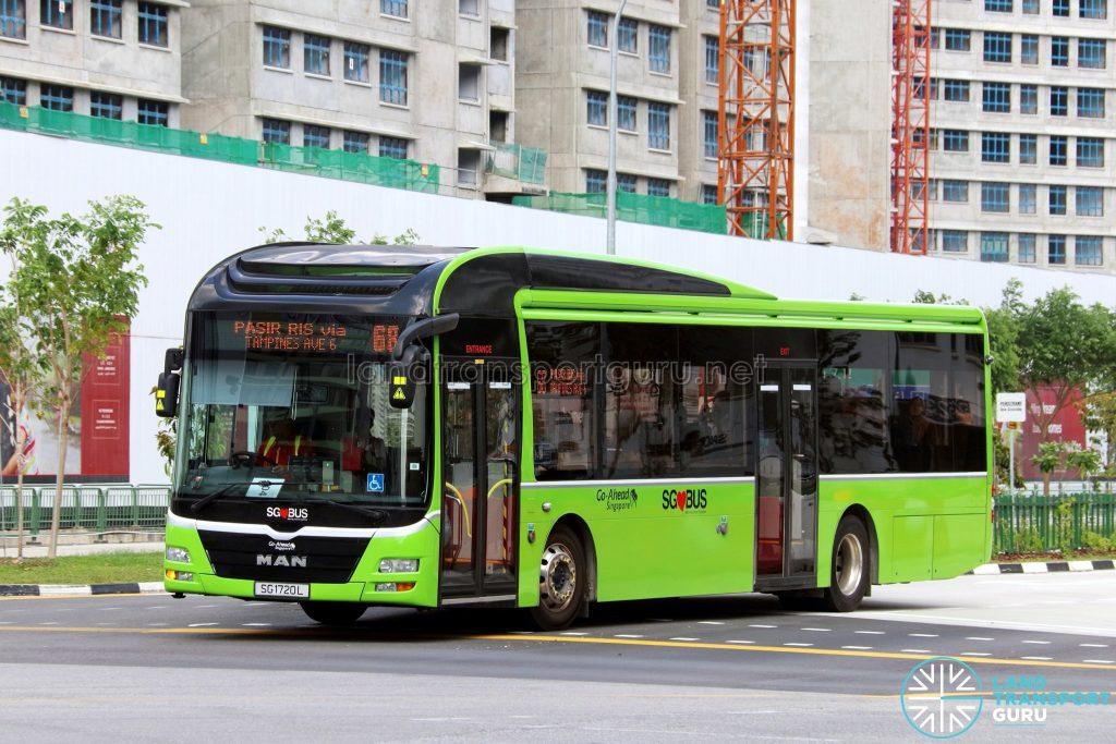 Bus 68 - Go-Ahead MAN A22 (SG1720L)