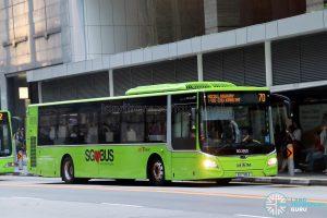 Bus Service 70 - SBS Transit MAN A22 Euro 6 (SG1785A)