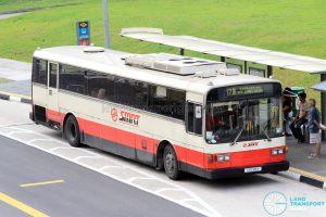 Bus Service 178 - SMRT Nissan Diesel U31RCN (CSS185P)