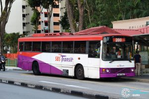 Bus 200 - SBS Transit Volvo B10M Mark III (SBS799E)