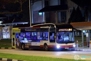 On-Demand Public Bus (Night Bus) NB-3 – SMRT MAN A22 (SMB218A)