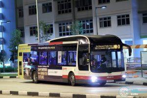 On-Demand Public Bus (Night Bus) NB-3 – SMRT MAN A22 (SMB218A)