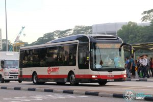 Bus Service 950 – SMRT MAN A22 (SMB299R)