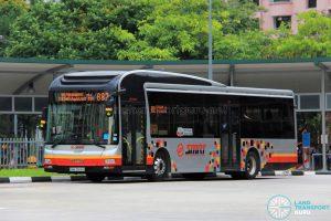 Bus 882 - SMRT Buses MAN A22 (SMB3008U)