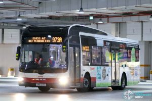 Bus Service 973A - SMRT MAN A22 (SMB323D)
