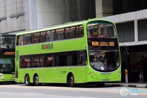 City Direct 661 - Go-Ahead Singapore Volvo B9TL Wright (SBS3442P)