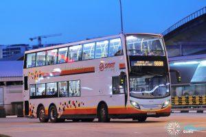 Bus 969A - SMRT ADL Enviro500 (SMB3520G)
