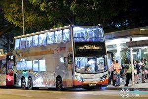 Shuttle 6 - SMRT Buses ADL Enviro500 (SMB3520G)