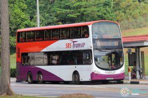 Bus 50 - SBS Transit Volvo B9TL Wright (SBS3885U)