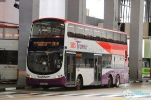 On-Demand Public Bus (Joo Koon) JK-11 - SBS Transit Volvo B9TL Wright (SBS3893X)
