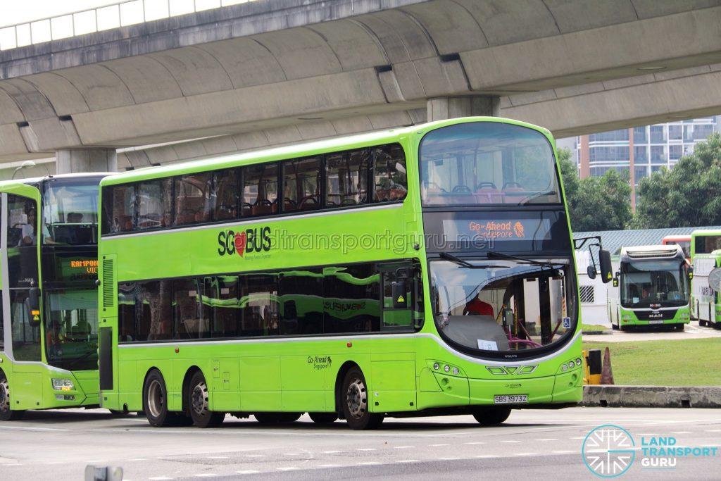 Go-Ahead Singapore Logo - Go-Ahead Volvo B9TL Wright (SBS3973Z)