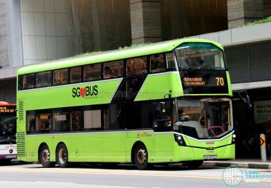 Service 70 - SBS Transit Volvo B8L (SG4003D)