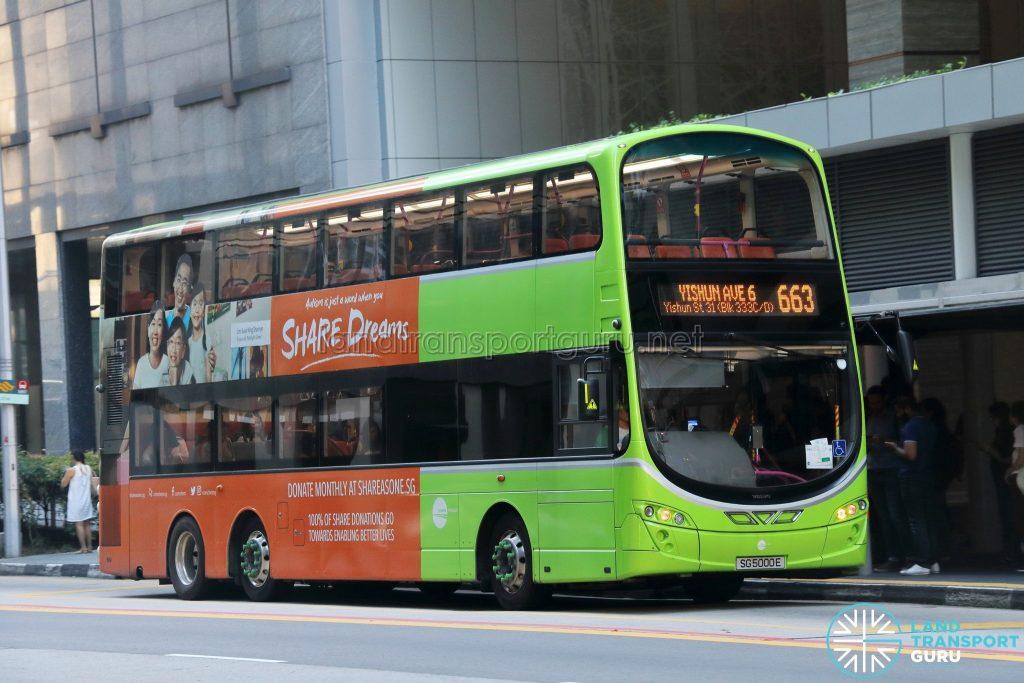 City Direct 663 - Tower Transit Volvo B9TL (SG5000E)