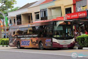 Bus 9A - SBS Transit Scania K230UB Euro V (SBS5053R)