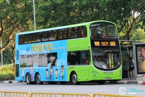 City Direct 661 - Go-Ahead Volvo B9TL Wright (SG5109B)