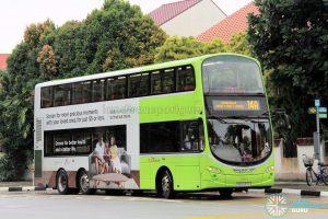 Bus Service 14A - Volvo B9TL (SG5437D)