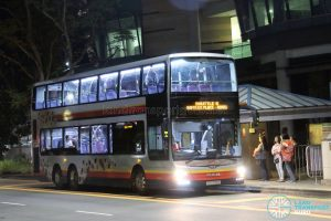 Shuttle 6 - SMRT Buses MAN A95 (SG5742Y)